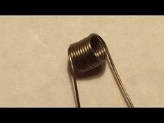 ▶ How to make a micro coil for an atomizer - YouTube