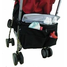 JL Childress Cool 'N Cargo Stroller Cooler (Black)