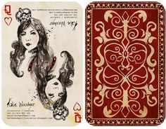 95 best great playing cards images on pinterest drawings games playing card designs katie woodger illustration colourmoves