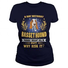 This cute design will be a great gift for you or your family  I am In Love With My Basset Hound Dog  Tee Shirts T-Shirts