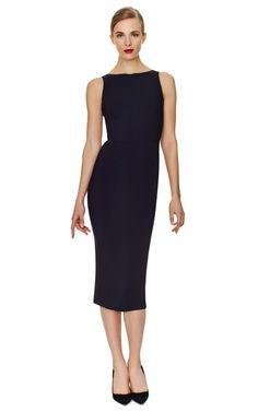 Sleeveless Cady Sheath Dress by Rochas