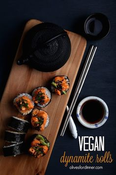 9 Vegan Sushi Recipes So Good You Can Finally Give Up Seafood - ChooseVeg.com