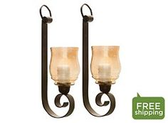 Joselyn Small Wall Sconces: Set of 2