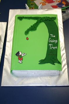 The Giving Tree Book Cake