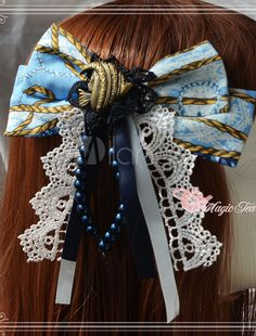 Printed Embroidered Lolita Headdress