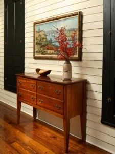 foyer table with storage - Google Search