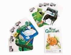 TIERQUARTETT Kartenspiel von Heidmük Verlag, über Kraul Spielzeug, im WILDHOOD store