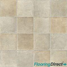 10.39 Mardi Gras 535 Durango Stone Tile Effect Vinyl Flooring ...