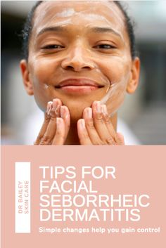 Signs that you may have seborrheic dermatitis include, Red ...