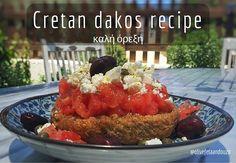 cretan dakos recipe