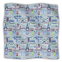 Kess InHouse 60 by 50Inch Allison Beilke JAdore Paris Pet Dog Blanket Large France Pattern -- Visit the image link more details.