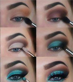 The Ultimate Full-Face Drugstore Makeup Guide For Beauty Addicts - Schminke - Eye Make up Eye Makeup Steps, Makeup Eye Looks, Natural Eye Makeup, Blue Eye Makeup, Sleek Makeup, Asian Makeup, Korean Makeup, Natural Beauty, Makeup Goals