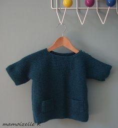 Joli pull à tricoter