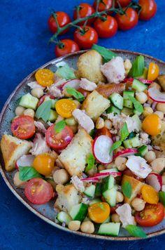 Salata cu ton si naut - Din secretele bucătăriei chinezești Cobb Salad, Salads