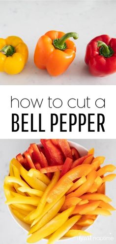 Learning how to cut a bell pepper gets you one step closer to enjoying this delicious, crispy, vibrant, and healthy ingredient in all kinds of ways!