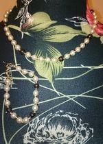 Schönes und elegantes Perlenset