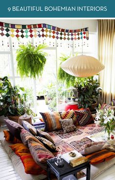 9 beautiful bohemian interiors