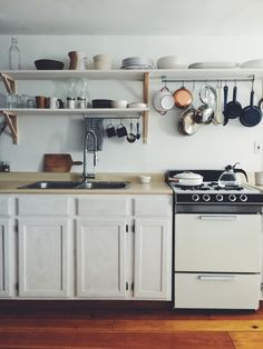 Suzie Ryu of Trollhagen DIY kitchen remodel at the School House in Upstate, NY | Remodelista