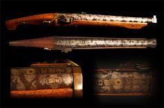IMAGES OF JAPANESE FIRE ARMS | Heavy Japanese Matchlock Gun