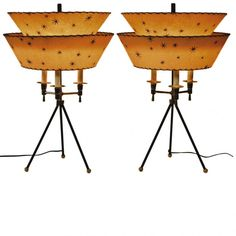 MOD CENTRY  Lamp | Mid-century table lamps by Vintage and Modern Inc. (V) , New York