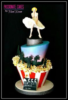 Marilyn madhatter cake