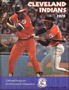 1978 Cleveland Indians Official Program