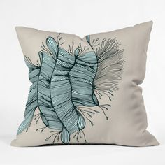 Gabi Birds Of A Feather 1 Throw Pillow | DENY Designs Home Accessories