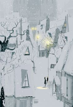 Four thirty in winter. by PascalCampion on deviantART