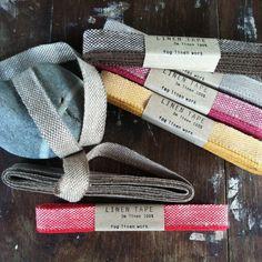 shop fog linen — Linen Tapes: 1.5cm