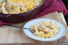 Chicken-Macaroni Casserole. Photo by Dine & Dish