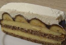 Prajitura Bezea cu nuca,banane si ciocolata Caramel, Cheesecake, Deserts, Pie, Garden Projects, Food, Recipes, Banana, Caramel Dip