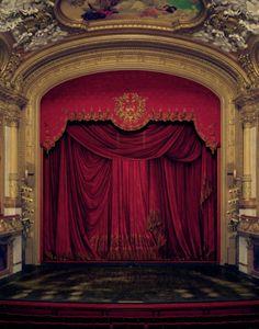 Royal Swedish Opera, Stockholm, Sweden   Photographed by David Leventi