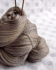 Luxury Lace Yarn Baby Camel & Silk Blend by WharfedaleWoolworks, $30.00