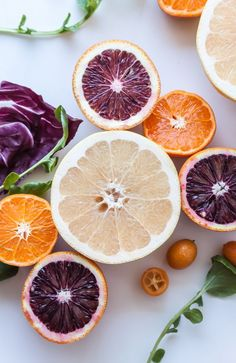 Citrus Salad with Bitter Greens | #fruit #food