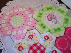 A few people were interested in knowing more about the glue method. Sue Daley has a tutorial on her blog that explains it very well. Worth a look.