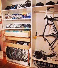 Bike cubby...