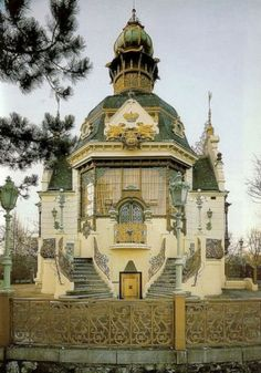 This is Beautiful art nouveau building architecture