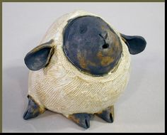 News from the Purple Pomegranate: Pottery Animals by Sandra ...