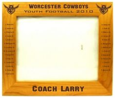 Personalized Frame for a Coach
