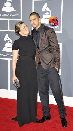 JCole with his Mom