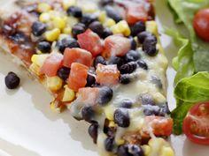 Corn and Black Bean Pizza