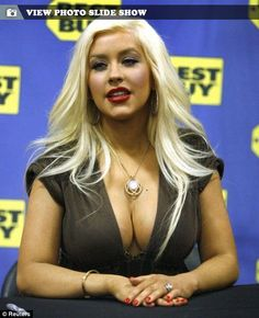 Keen to know what is Christina Aguilera bra size?