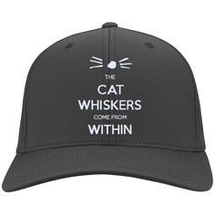 The Cat Whiskers Come From Within - Dan and Phil Personalized Twill Cap
