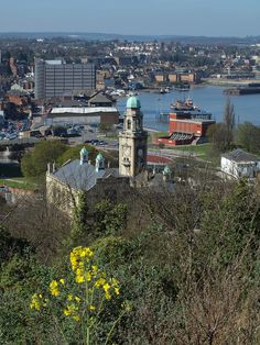 A view over Chatham from Fort Amherst by Simon Bolton UK, via Flickr
