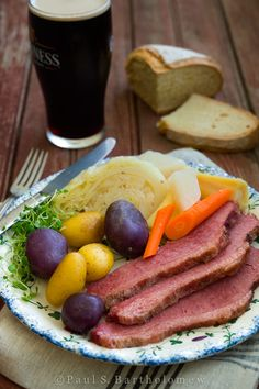 Corned Beef and Cabbage - serve this New England Boiled dinner any time of year to celebrate Irish ancestry