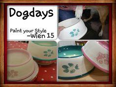 Pfoten Abdrücke auf Keramik  paint your own pottery, Keramik selber bemalen bei Paint your Style - Wien 15 http://www.paintyourstyle.de/at  wien15@paintyourstyle.at   FB: Paint your Style - Wien 15