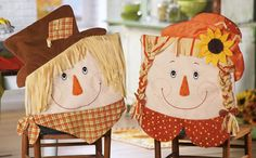 Scarecrow Dining Room Chair Covers