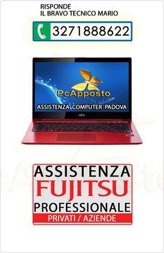 Centro asistenza notebook notebook Fujitsu per privati ed aziende. Lavoro eseguito a regola d'arte preceduto da preventivo. Il Bravo Tecnico Mario