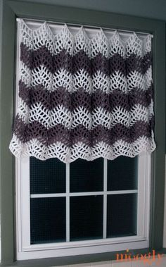 Crochet Your Own Curtains with These Free Patterns