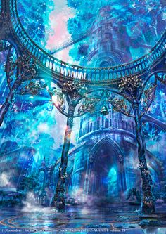 21 ideas for fantasy landscape cities scenery rpg Fantasy City, Fantasy Castle, Fantasy Places, Fantasy World, Fantasy Art Landscapes, Fantasy Landscape, Fantasy Artwork, Landscape Art, Environment Concept Art